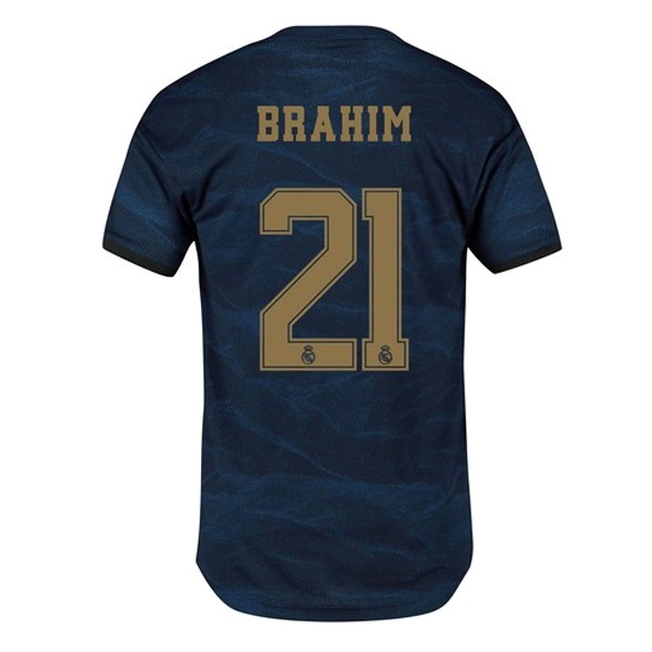 Camiseta Real Madrid NO.21 Brahim Segunda 2019/2020 Azul