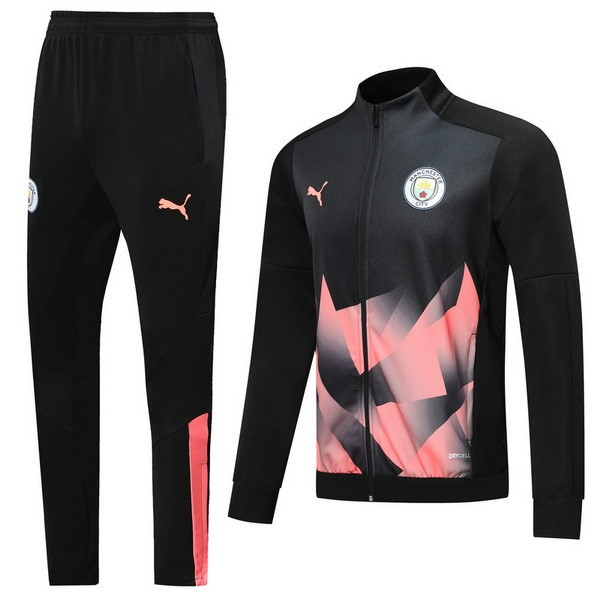 Chandal Manchester City 2019/2020 Negro Rosa
