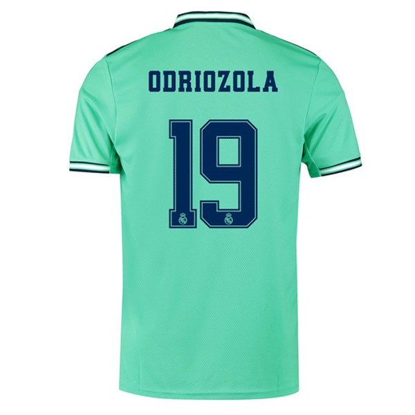 Camiseta Real Madrid NO.19 Odriozola Tercera 2019/2020 Verde