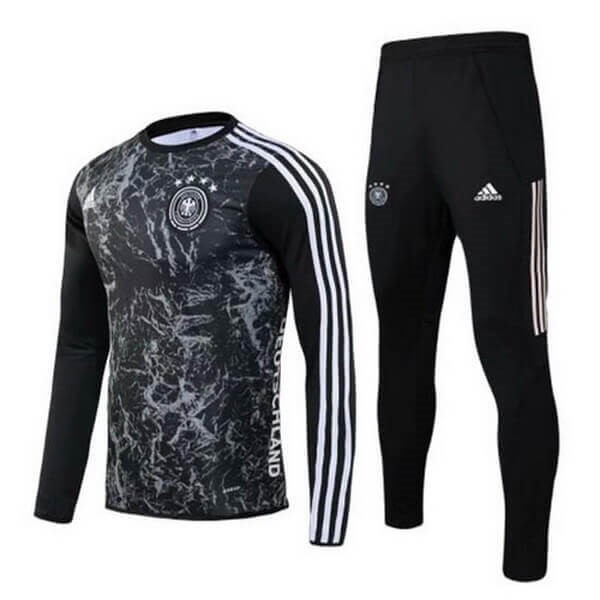 Chandal Alemania 2020 Negro Gris