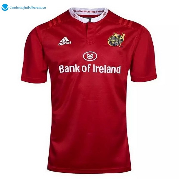 Camiseta Rugby Munster 2016 2017 Rojo